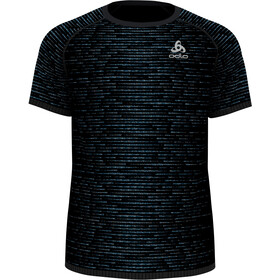 Odlo Blackcomb Ceramicool T-Shirt S/S Crew Neck Men, black/space dye